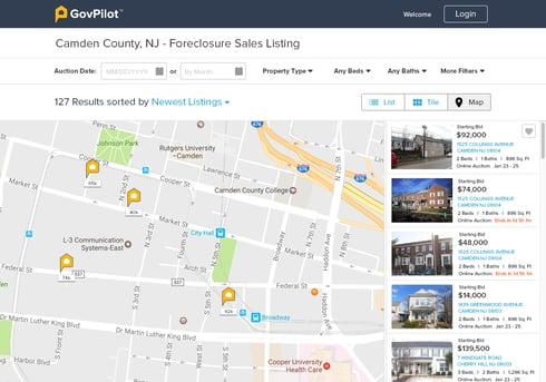 GovPilot Online Real Estate Auctions