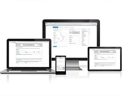 digital form on devices GovPilot government software