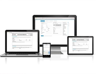 digital form on devices GovPilot government software