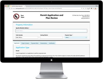 digital permitting and licensing form GovPilot government software
