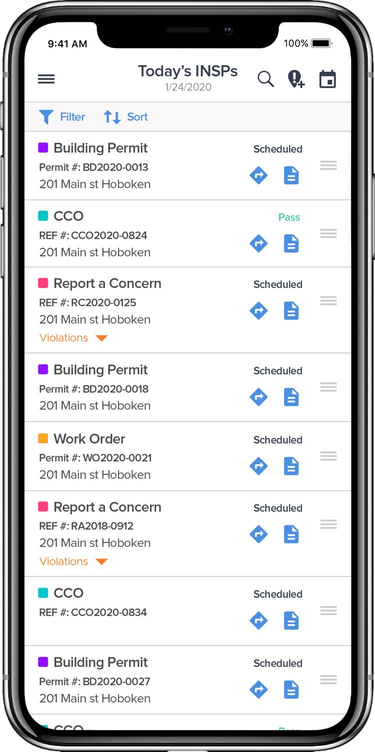 GovPilot GovInspect App