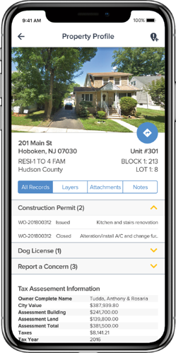 Mobile Property Profile