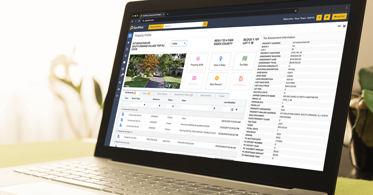 GovPilot Property Profile