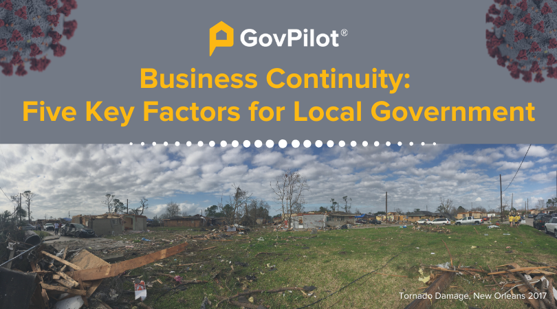 Business Continuity: Five Key Factors for Local Government