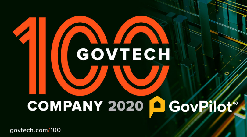 GovPilot Named to Government Technology Magazine's 2020 Top 100 List