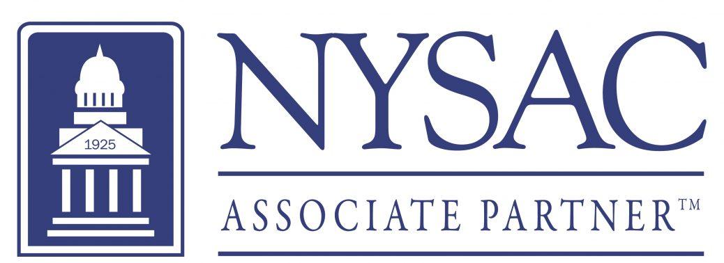 NYSAC Associate Partner Logo BLUE