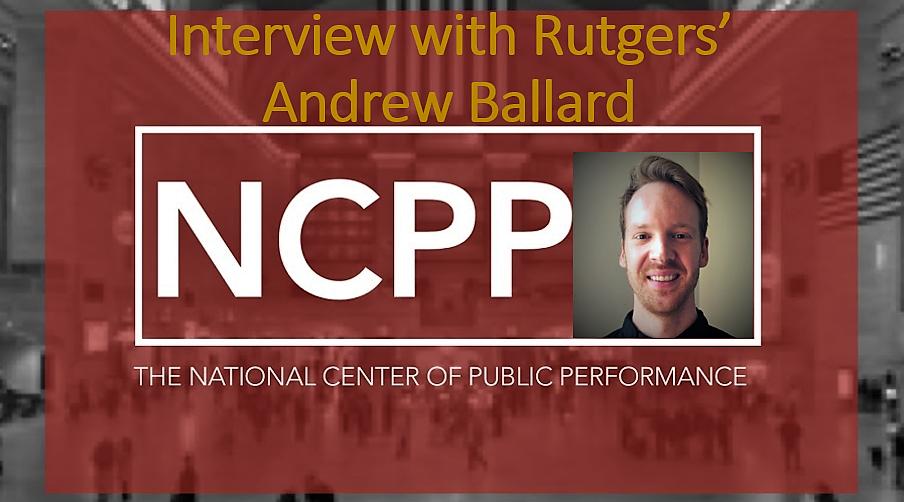 GovPilot Talks Public Performance Management with Rutgers' Andrew Ballard
