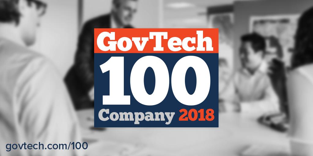 GovPilot Named a 2018 GovTech Magazine Top 100 Company
