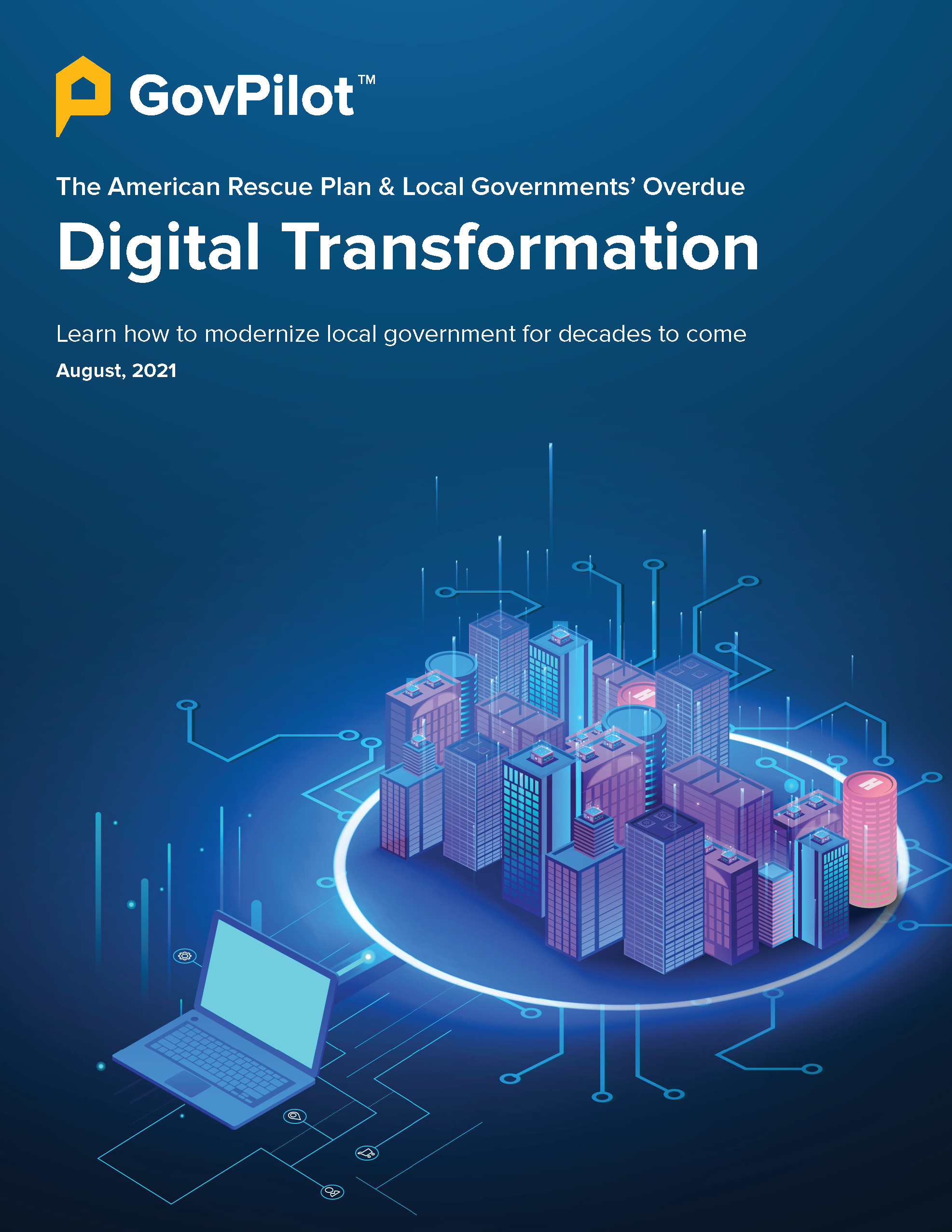 GovPilot eBook: Digital Transformation and the American Rescue Plan Act August 2021